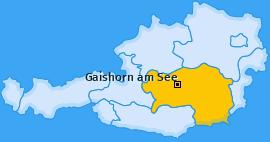 Karte von Gaishorn am See