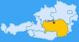 Karte von Landl