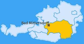 Karte von Bad Mitterndorf