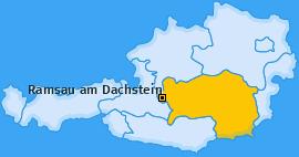 Karte von Ramsau am Dachstein