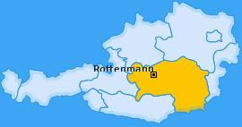 Karte von Rottenmann