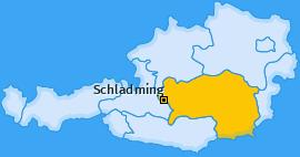 Karte von Schladming