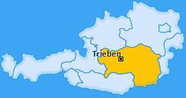 Karte von Trieben