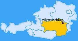 Karte Schöneben Mürzzuschlag