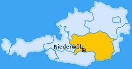 Karte von Niederwölz