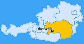 Karte von Oberwölz