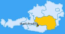 Karte von Stadl-Predlitz