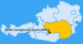 Karte Lutzmannsdorf Sankt Georgen am Kreischberg