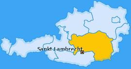 Karte von Sankt Lambrecht