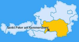 Karte von Sankt Peter am Kammersberg