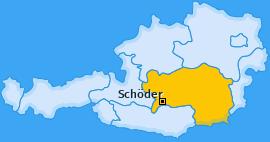 Karte von Schöder