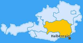 Karte von Halbenrain