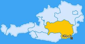 Karte von Klöch
