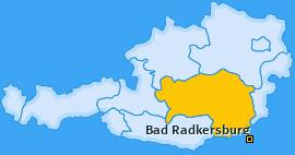Karte von Bad Radkersburg