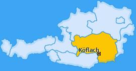 Karte von Köflach