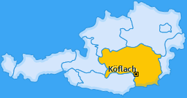 Karte Puchbach Köflach