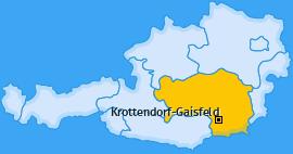 Karte von Krottendorf-Gaisfeld