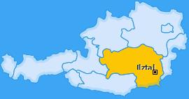 Karte von Ilztal