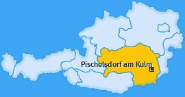 Karte von Pischelsdorf am Kulm