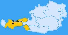 Karte von Obsteig