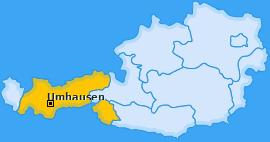 Karte von Umhausen