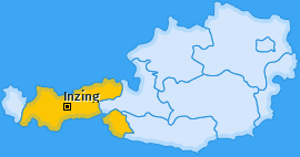 Karte von Inzing
