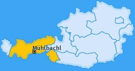 Karte von Mühlbachl