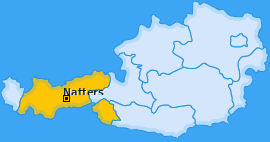 Karte von Natters