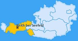 Karte von Reith bei Seefeld