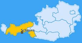 Karte von Schmirn