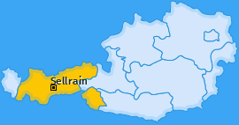 Karte von Sellrain