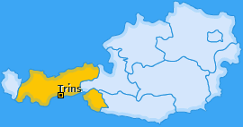 Karte von Trins