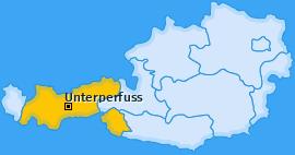 Karte von Unterperfuss