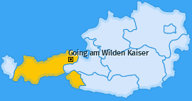 Karte von Going am Wilden Kaiser