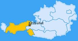 Karte von Kitzbühel