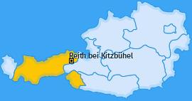 Karte von Reith bei Kitzbühel