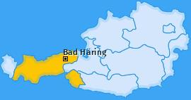 Karte von Bad Häring