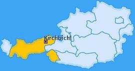 Karte von Kirchbichl