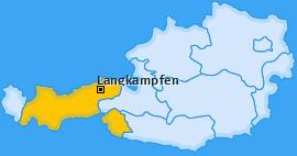 Karte von Langkampfen