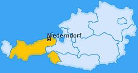Karte von Niederndorf