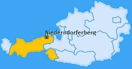 Karte von Niederndorferberg