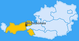 Karte von Wildschönau