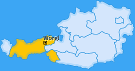 Karte von Wörgl