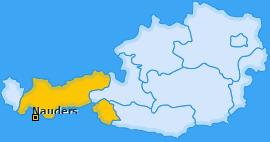 Karte von Nauders