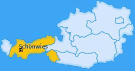 Karte von Schönwies