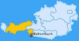 Karte von Abfaltersbach