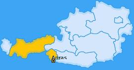 Karte von Anras