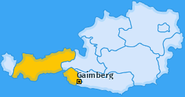 Karte von Gaimberg