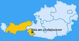 Karte von Kals am Großglockner