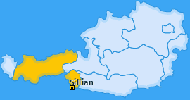 Karte von Sillian